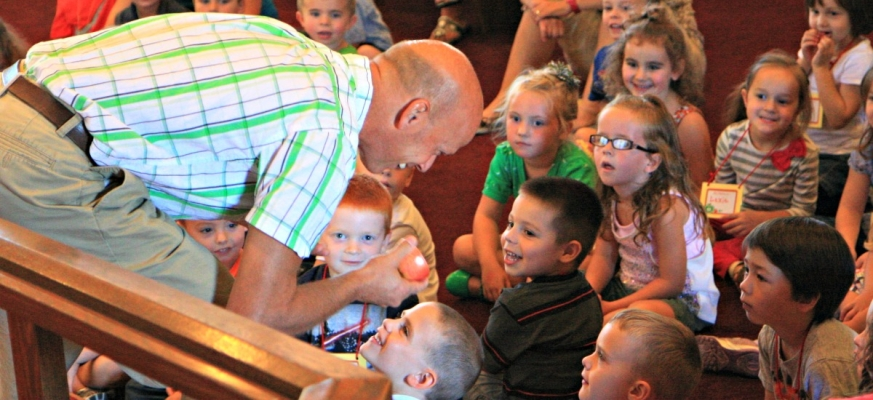 Storytime Bible Stories with Pastor Mark Elim Christian Preschool Lake Stevens WA